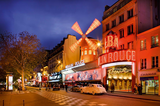 moulin-rouge-paris.jpg - Moulin Rouge, a famous cabaret  on Boulevard de Clichy in Paris, first opened in 1889.