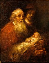 "Photo: Simeon, The Man Who Cradled God in His Arms and a prophetess, Anna. By Rembrandt Jesus Presented at the Temple; http://www.biblegateway.com/passage/?search=Luke+2&version=ESV. Luke 2:22–40 ESV.  Praying Scripture  Pray With Me: Developing A Culture Of Prayer...  A Prayer that We, Being Gripped by the Reality of Both Hell and Heaven, Would Make Sure of our Personal Salvation  ""And if anyone's name was not found written in the book of life, he was thrown into the lake of fire.""—Revelation 20:15  ""And night will be no more. They will need no light of lamp or sun, for the Lord God will be their light, and they will reign forever and ever.""—Revelation 22:5  Revelation 20, 22 ESV; https://www.biblegateway.com/passage/?search=Revelation%2020;%2022&version=ESV  Audio; https://www.biblegateway.com/audio/mclean/esv/Rev.20  https://sites.google.com/site/theinspirational1/home/praying-scripture/links-the-inspirational/a-most-powerful-prayer-for-what-it-means-to-honor-christ-until-we-see-him-face-to-face-to-the-glory-and-praise-of-god/a-prayer-for-hope-when-god-appears-to-have-turned-against-us-but-he-knows-the-way-that-i-take/a-prayer-that-we-will-worship-god-in-our-trials-rather-than-trying-to-discern-a-silver-lining/a-prayer-that-we-might-not-fear-when-under-attack-by-our-enemies/god-even-if-natural-disasters-should-come-our-way/a-prayer-that-we-might-let-the-word-of-god-cut-deeply-into-our-hearts-both-to-hurt-and-to-heal/a-prayer-to-draw-near-to-god-with-confidence-that-we-are-being-received-and-heard/a-prayer-that-we-might-be-motivated-to-live-in-anticipation-of-the-lord-s-return/a-prayer-that-we-might-give-thanks-to-god-for-his-eternal-and-glorious-victory-in-which-we-shall-participate/a-prayer-that-we-being-gripped-by-the-reality-of-both-hell-and-heaven-would-make-sure-of-our-personal-salvation  LATEST; https://sites.google.com/site/theinspirational1/"