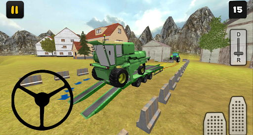 Tractor Simulator 3D: Harvester Transport for PC