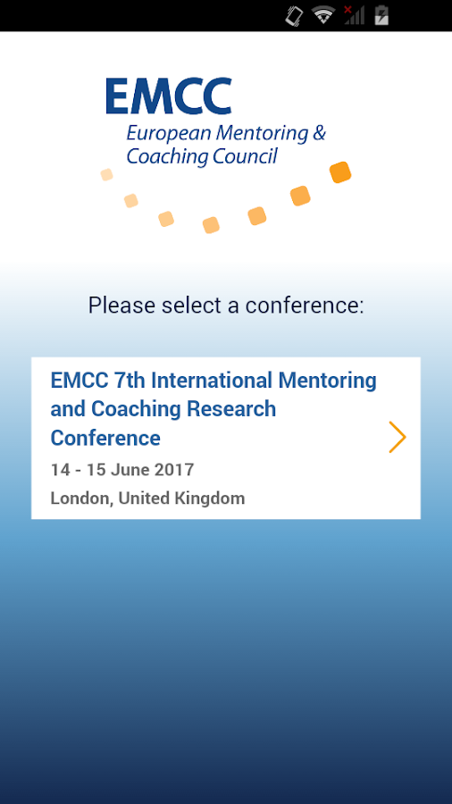 EMCC International Conferences- screenshot