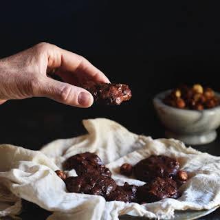 Low-Carb Dark Chocolate Hazelnut Cookies.