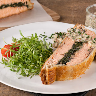 Stefano's Salmon Wellington
