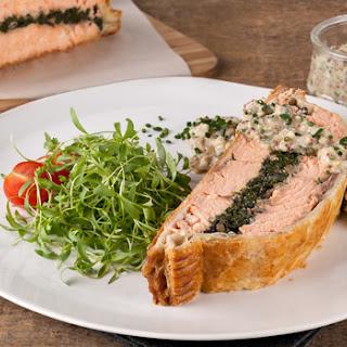 Salmon Wellington Puff Pastry Recipes