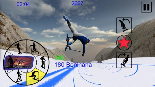 Snowscooter Freestyle Mountain 1.09 Mod screenshots 3