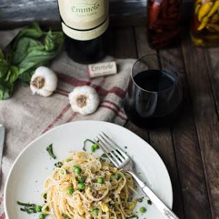 Classic Pasta Carbonara.
