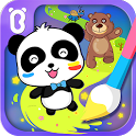 Baby Panda's Magic Lines icon