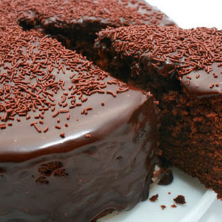 Diet Coke Chocolate Cake.