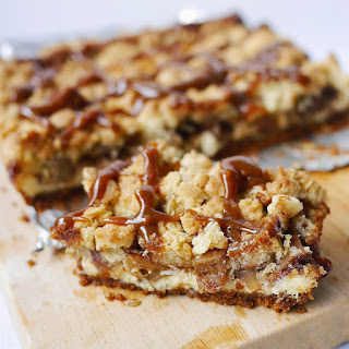 Speculoos Apple Crumble Cheese Bars