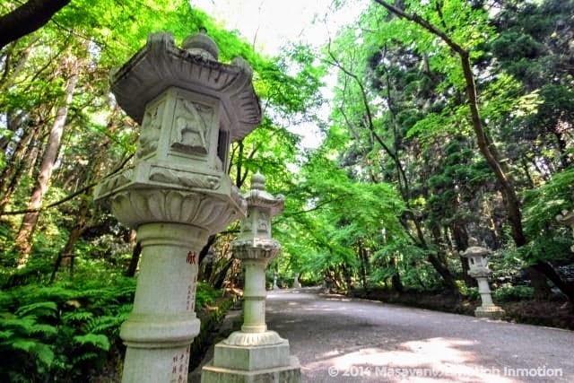 香取神宮の石燈籠