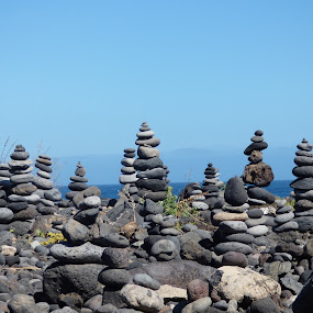 Stones by Nick Parker - Artistic Objects Other Objects ( piles, beach, stones,  )