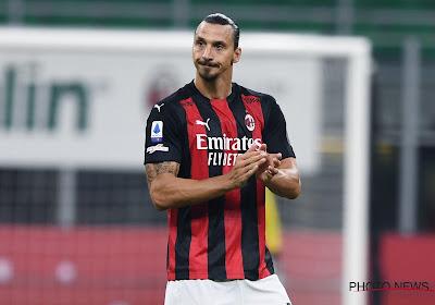 """Zlatan Ibrahimovic scoort er meteen twee tijdens seizoensopener: """"Als ik 20 jaar was, dan had ik er vier gemaakt"""""""