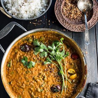 Creamy Coconut Lentil Curry.