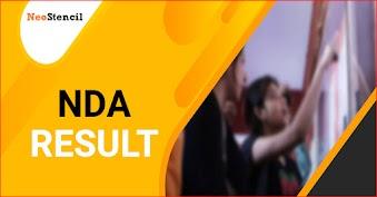 NDA Result 2020 (Out) - Check NDA 1 & 2 Results, Scorecard