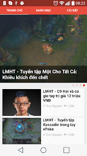GosuTV - Tin tức LMHT, Dota 2- screenshot thumbnail