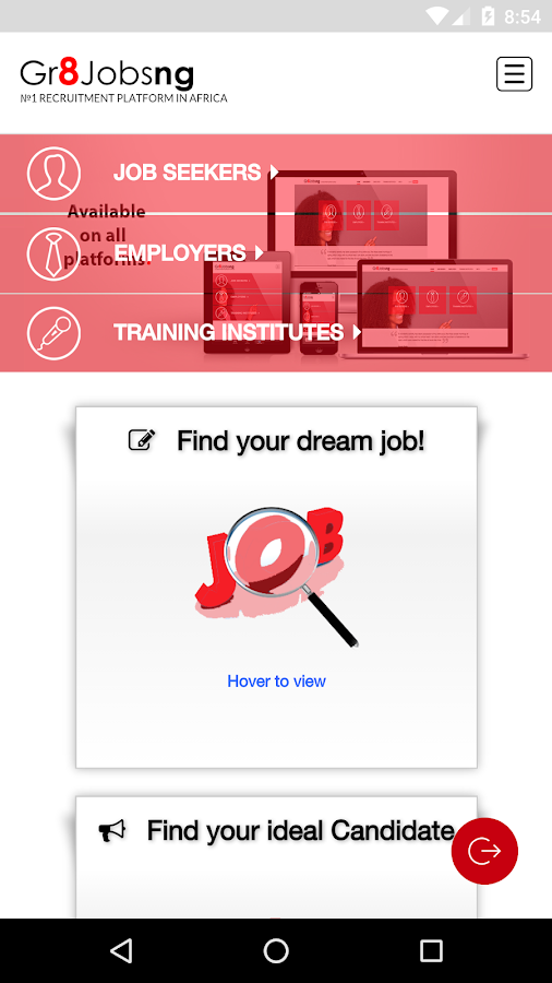 Gr8jobsng- screenshot