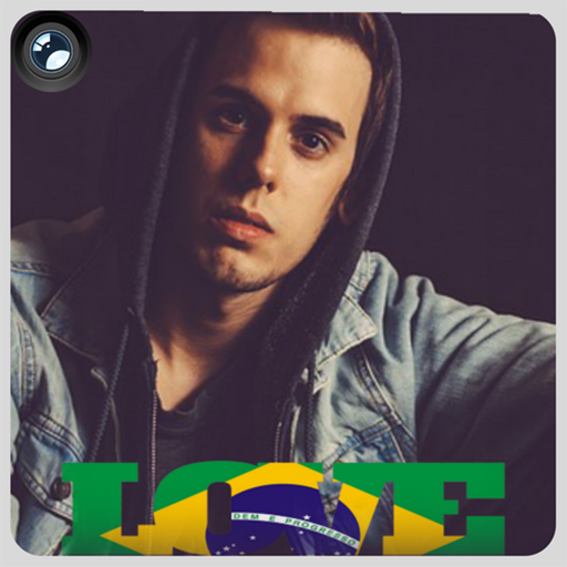 Brazil Flag Love Effect : Photo Editor