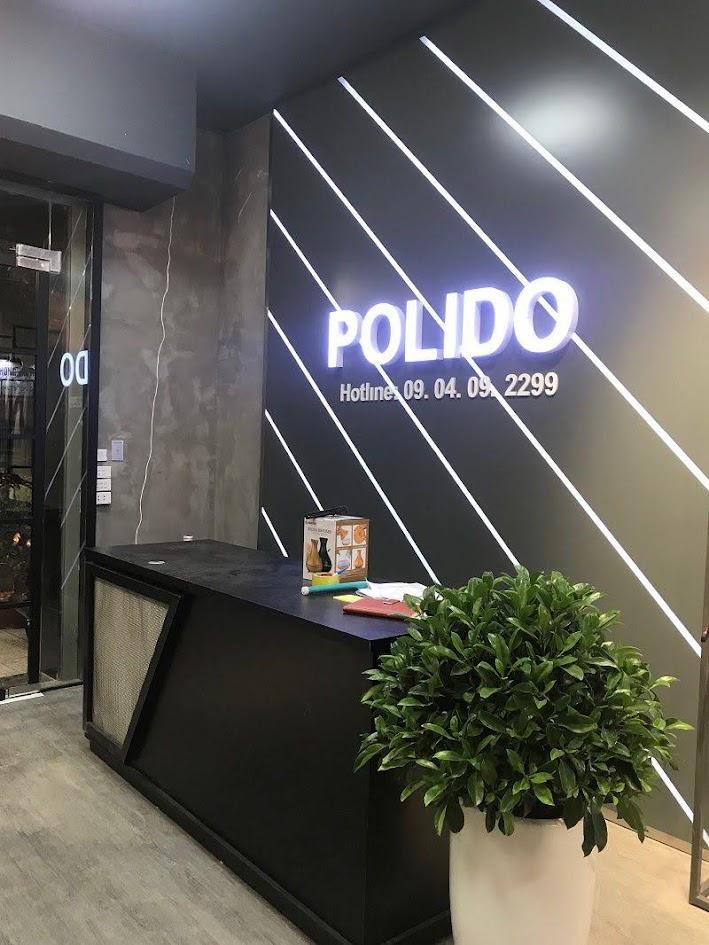 thiết kế thi công shop thời trang nam polido 2