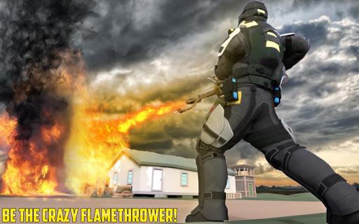 War Flame Throw Critical Gun Simulator Destroyer Z cheat screenshots 1