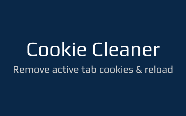 Cookie Cleaner