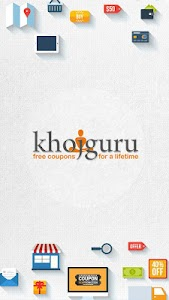Khojguru - Coupons & Deals screenshot 0