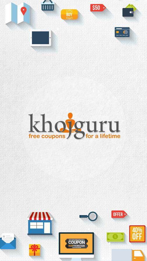 Khojguru - Coupons & Deals- screenshot