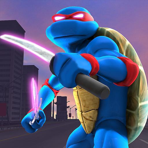 Shadow Turtle Warrior: Flying Ninja in Star City