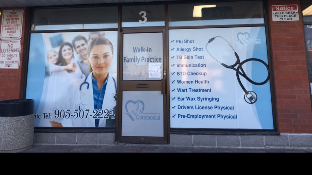 Ceremonial Medical Centre - Walk-in Clinic in Mississauga