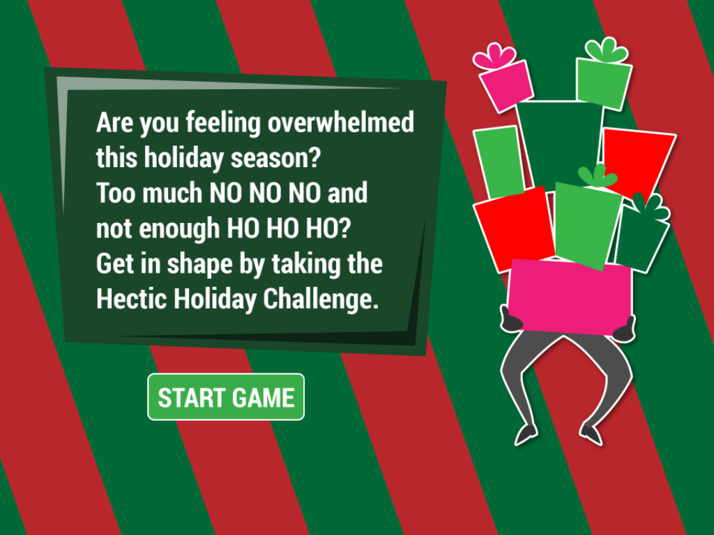 Hectic Holiday Challenge- screenshot