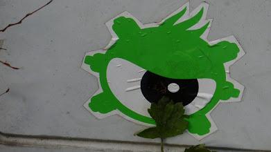 Photo: Zyklop-Monster-Sticker, Unknown Artist