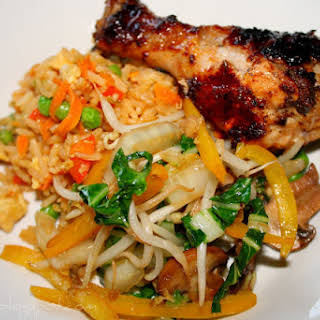 Asian-inspired Grilled Chicken Legs.