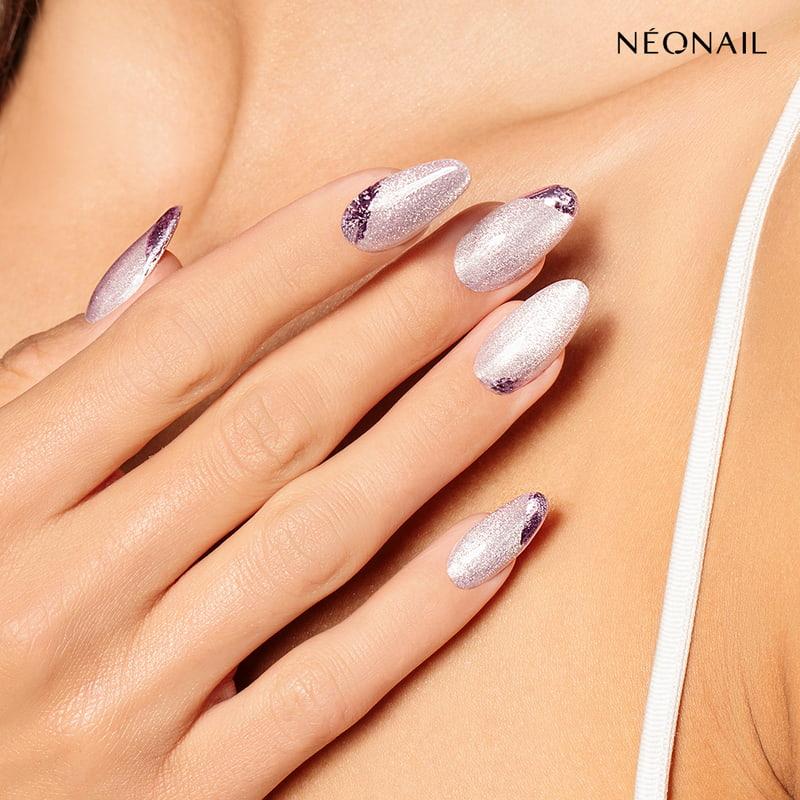 Metaliczne paznokcie hybrydowe