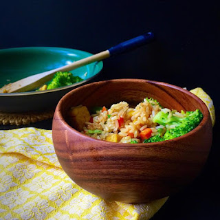 10-Minute Vegan + GF Fried Rice (For One!).