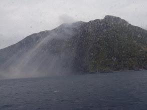 Photo: La Sciara del Fuoco, vue du bateau