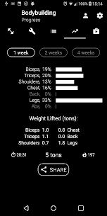 Bodybuilding.Weight Workout v1.21 [Pro][Mod][SAP] 3