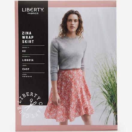 Zina Wrap Skirt