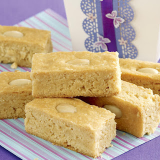 Almond Shortbread.