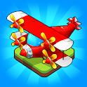 Merge Airplane: Cute Plane Merger icon