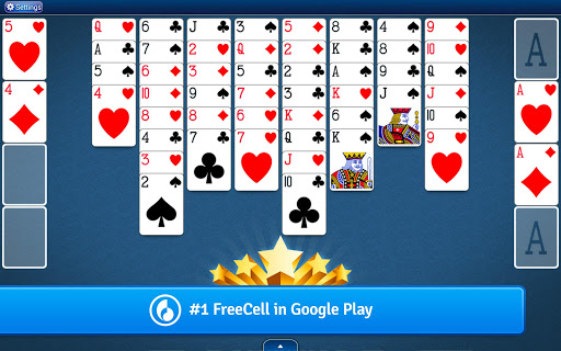 FreeCell Solitaire  gameplay | by HackJr.Pw 10
