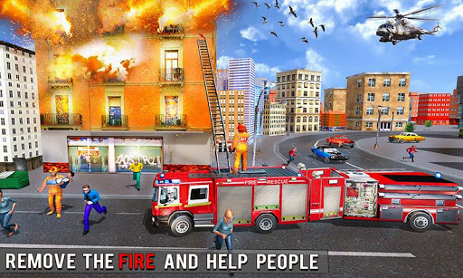 Fire Engine Truck Driving : Emergency Response 1.0.1 screenshots 2