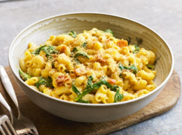Spinach And Bacon Mac & Cheese Recipe
