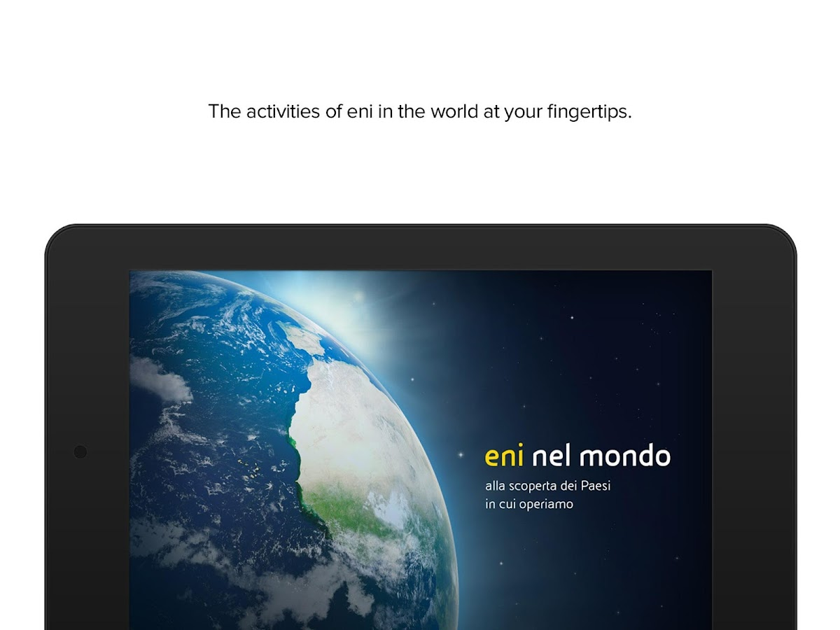 eni in the world- screenshot