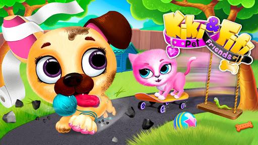 Kiki & Fifi Pet Friends - Virtual Cat & Dog Care 5.0.30005 screenshots 3