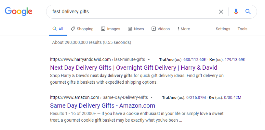 Optimizing on-page SEO for search terms