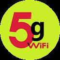 3g hotspot to 5g icon