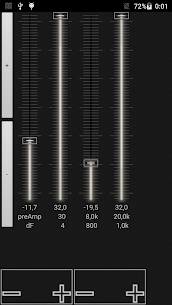music player with parametric equalizer & surround 0.19.0.5 Mod APK (Unlimited) 3