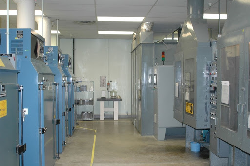 Interior view of the Thermal Ptroctection System facility.
