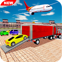 Airplane Car Transport Simulator Drive icon