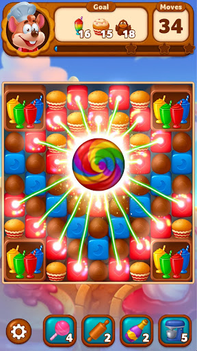 Sweet Blast: Cookie Land filehippodl screenshot 3