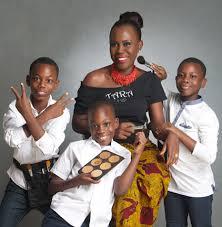 Image result for young tara fela durotoye family