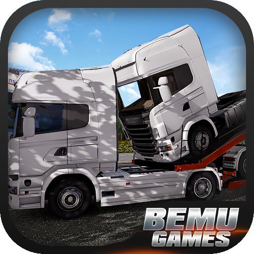 模擬App|重型卡车停车场3D LOGO-3C達人阿輝的APP